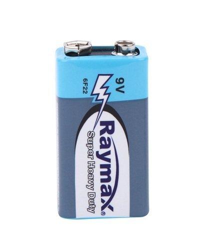Батарейки Raymax 6F22, 9V крона (1/10)