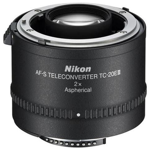 Телеконвертер Nikon AF-S Teleconverter TC-20E III 2X Black для Nikon