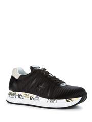 Текстильные кроссовки Premiata Conny 3616 на шнуровке