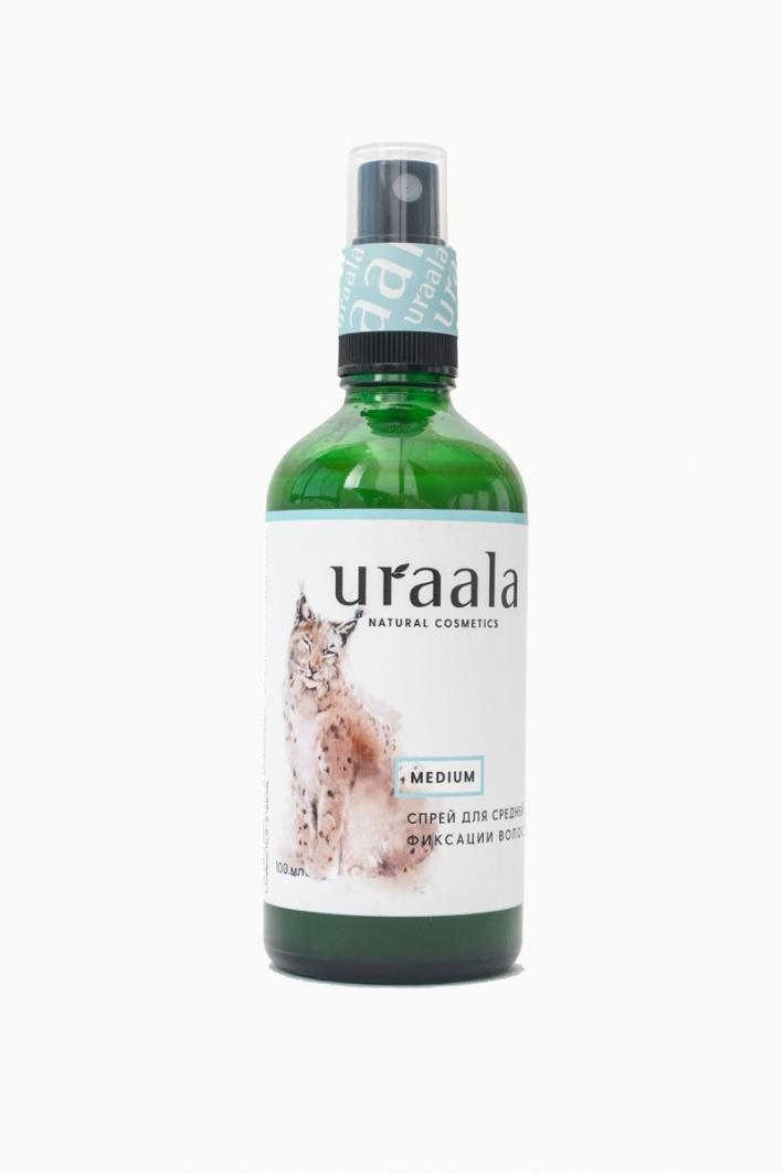 Спрей для фиксации волос Medium Ura'ala, 50 мл