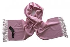Шарф кашемировый розовый 00700
