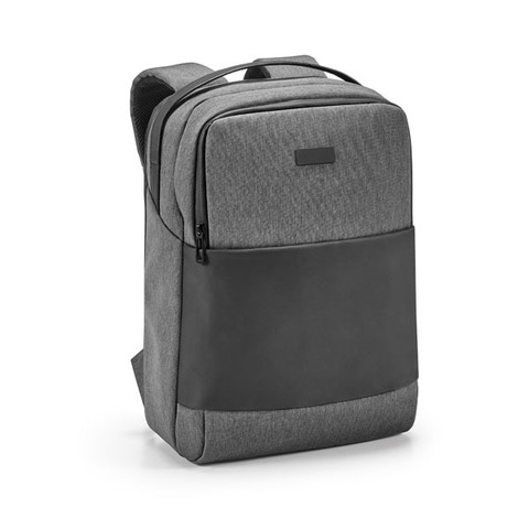 Shady Laptop Backpack, grey with black