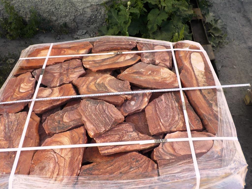 Песчаник плитняк Красный Орех