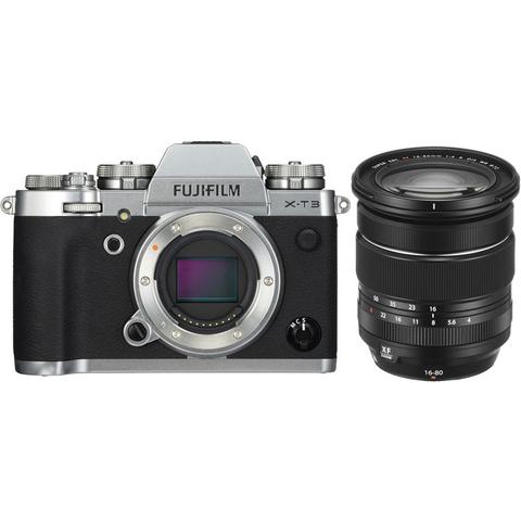 Fujifilm X-T3 Kit XF 16-80mm F4 R OIS WR Silver