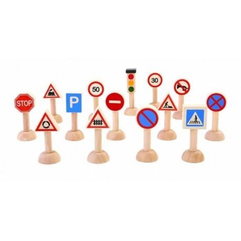 Набор Дорожные знаки Plan Toys