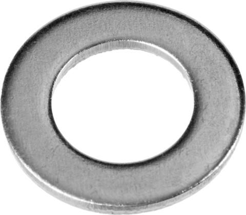 Шайба DIN 125A, 8 мм, 5 кг, оцинкованная, ЗУБР