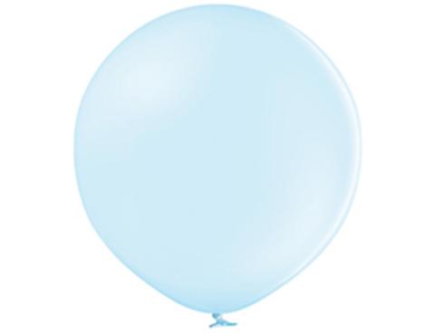 Большой шар макарунс голубой