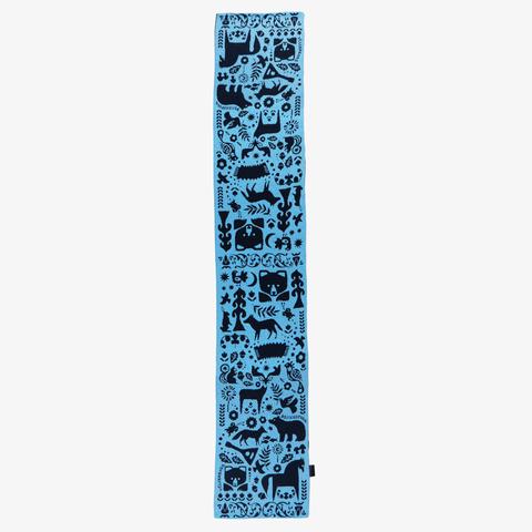 Winter Evening - blue tones No. 3.2 (No fringe)