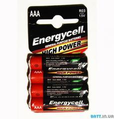 Батарейки Energycell Heavy Duty AAA (R03)