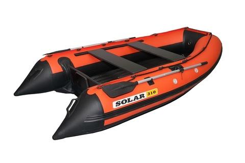 Надувная ПВХ-лодка Солар Максима - 310 (оранжевый)