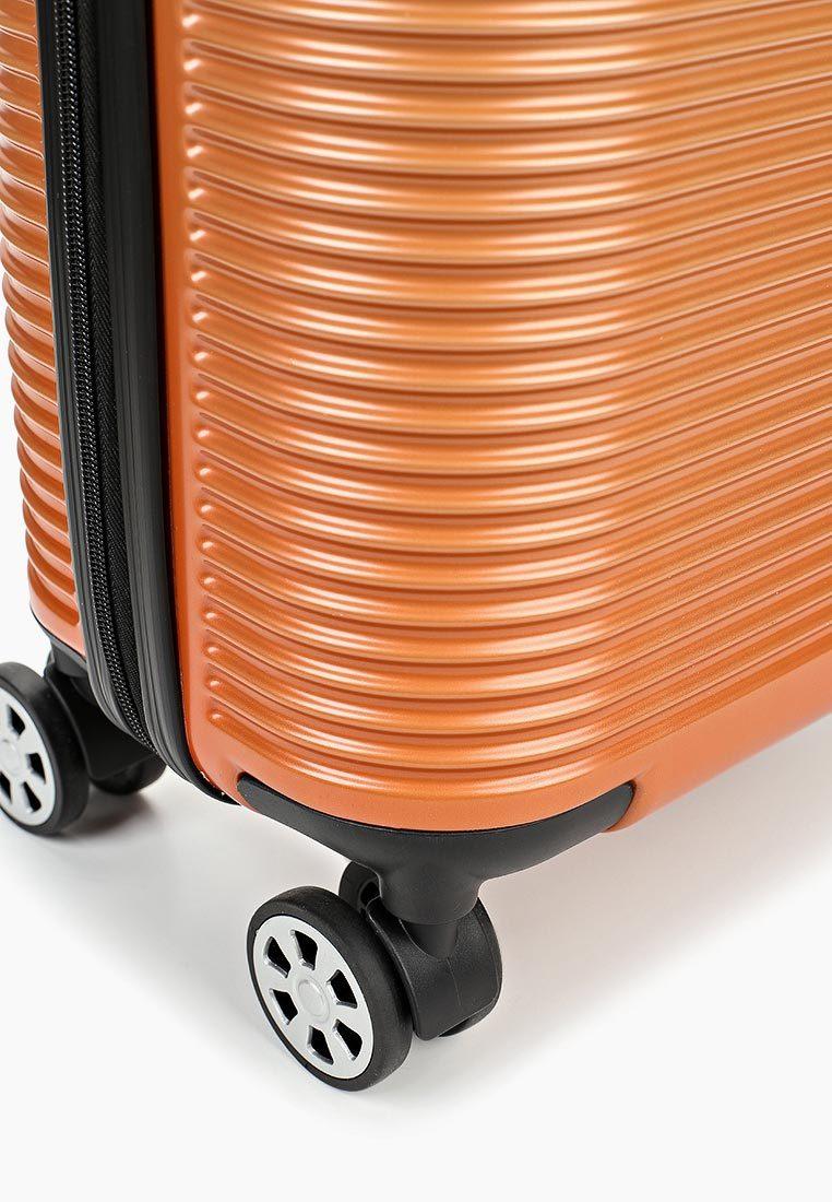 Чемодан SunVoyage Elit SV042-AC156 Оранжевая волна (S+)