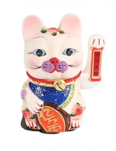 Кошка Неко Манеко Керамика 25 см
