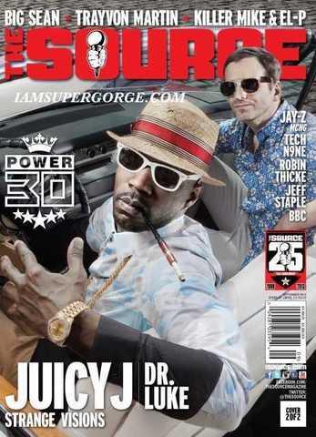 Журнал The Source сентябрь 2013 обложка