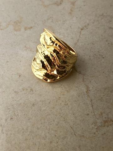 Кольцо Риара, позолота