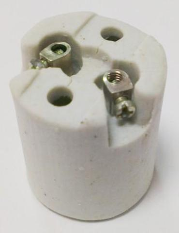 Патрон керамический Е14