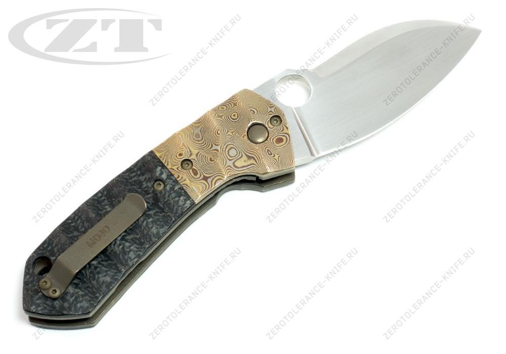 Нож Mojo Mokume Custom Jens Anso - фотография