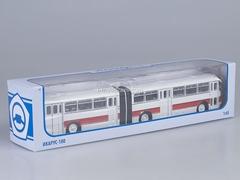 Ikarus-180 white-red Soviet Bus 1:43