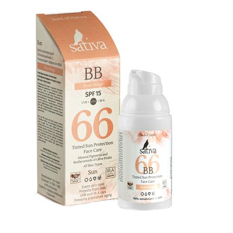 BB Крем ухаживающий SPF15 с тонирующим эффектом №66 Rose Beige