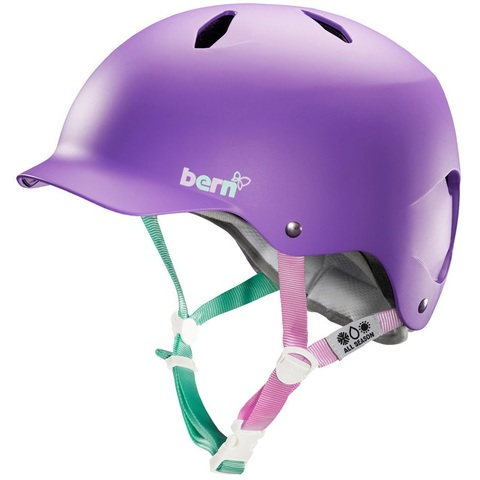 BE-VW6EMPUML Шлем дет BERN Bandita EPS Summer Matte Purple, M/L