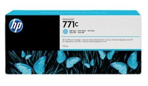 Оригинальный картридж HP B6Y12A 771C голубой