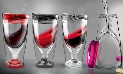 Бокал Asobu Ice vino 2go (0,48 литра), прозрачный