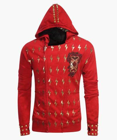 Толстовка The Saints Sinphony LIGHTNING ZUES HOODIE RED