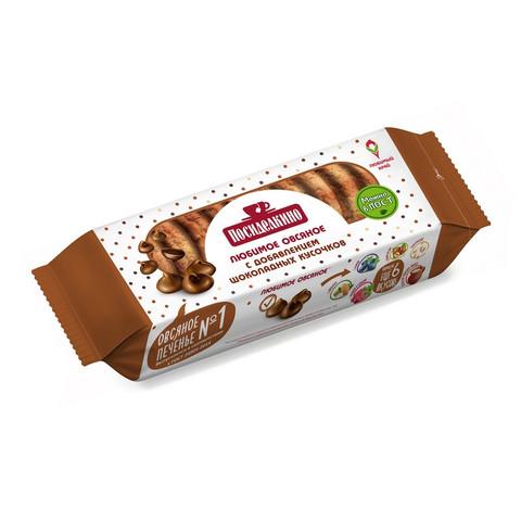 Печенье овсяное Посиделкино с шоколадными кусочками 310 г