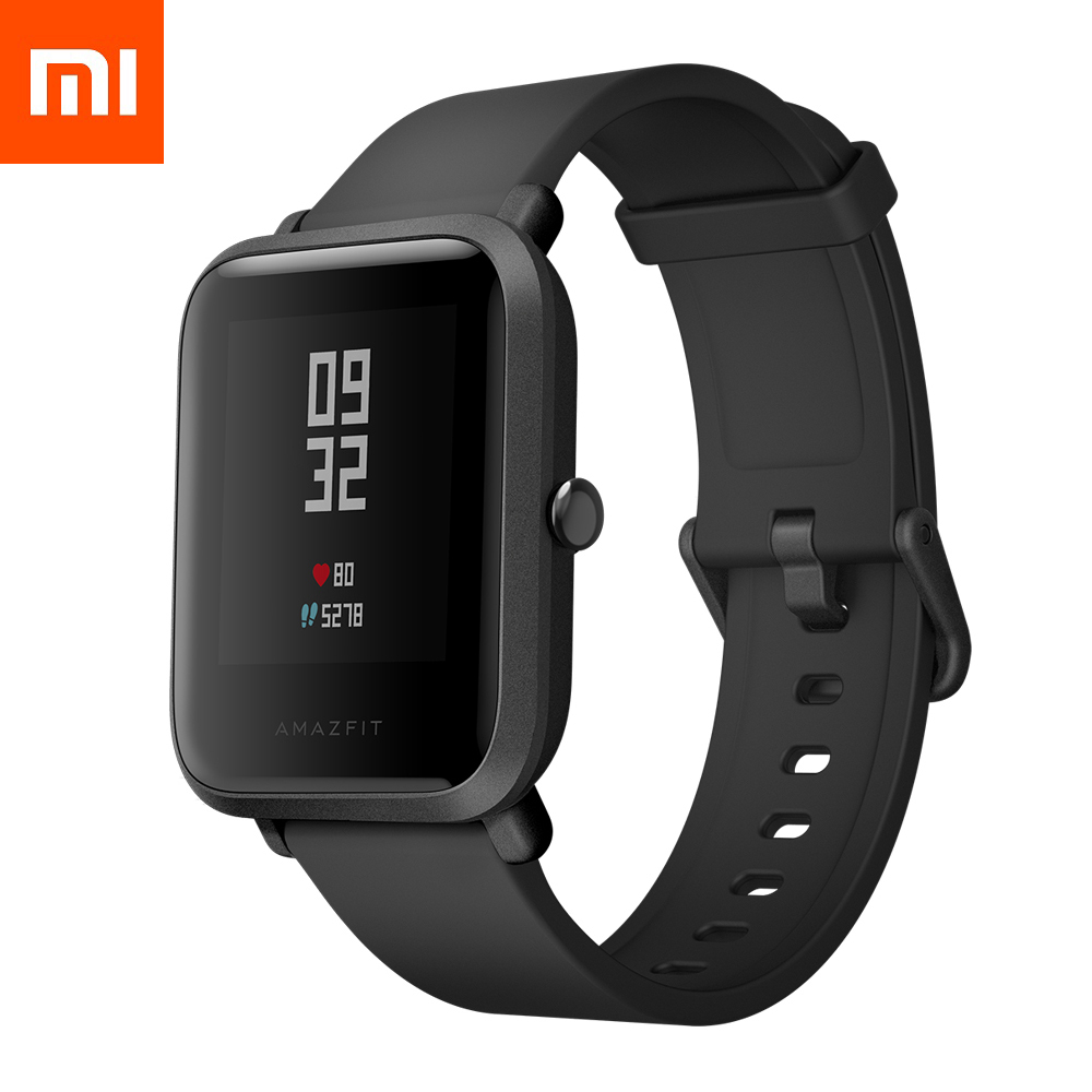 Смарт-часы Xiaomi Amazfit Bip Youth Smart Watch (Global version/черные)