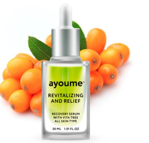 AYOUME Сыворотка для лица восстанавливающая AYOUME Vita Tree Revitalizing-&-Relief serum