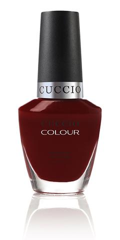 Лак Cuccio Colour, Red eye to Shanghai, 13 мл.