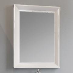 Зеркало Marka One Delice 65 см white