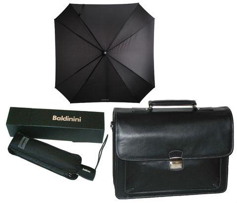 Комплект #1 Hexagona портфель (Франция) и зонт Baldinini (Италия)