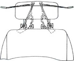 Автомобильная вешалка HEBE HBA63
