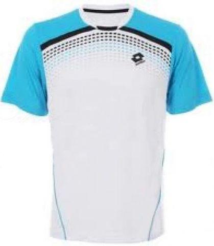 Футболка теннисная LOTTO GRAPHIC-SPOT M8434