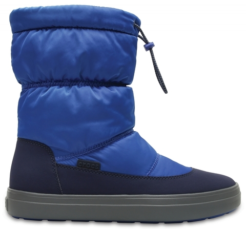 Женские сапоги CROCS Women's LodgePoint Shiny Pull-on Boot