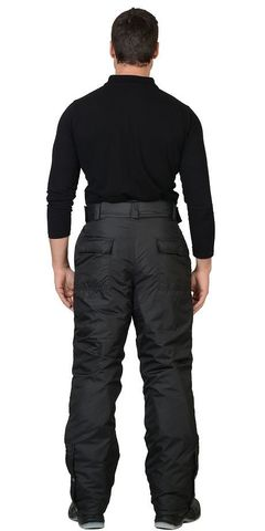Костюм Черный куртка, брюки