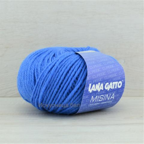 Пряжа Misina (Мисина) Ярко-синий. Артикул: 923