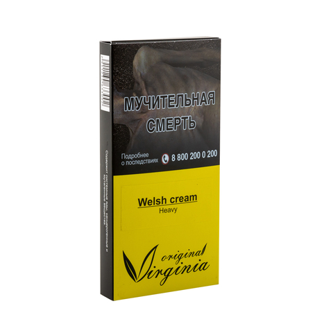 Табак Virginia Heavy Welsh Cream (Сливки Виски Кофе) 50 г