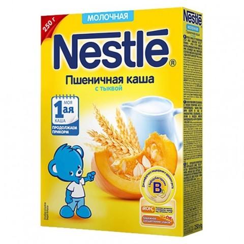 Nestlé® Молочная пшеничная каша с тыквой
