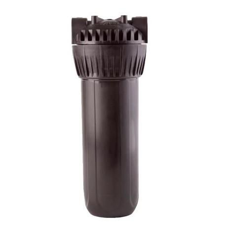 Фильтр Гейзер 10 1/2 (8) (черная колба, металл. ниппель, скоба, ключ), арт.50541 Акция