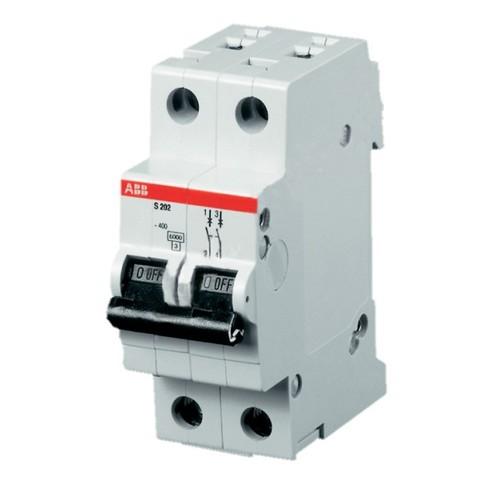Автомат.выкл-ль 2-полюсной S202 C6