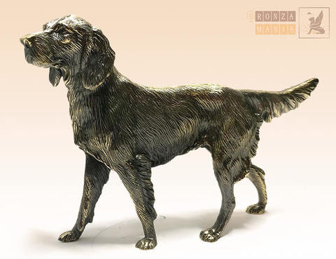 статуэтка Собака Сеттер большой