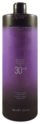 Окисляющая эмульсия со смягчающим и защитным действием DCM Protective Oxidizing Emulsion 9% 30 Vol. 1000 мл
