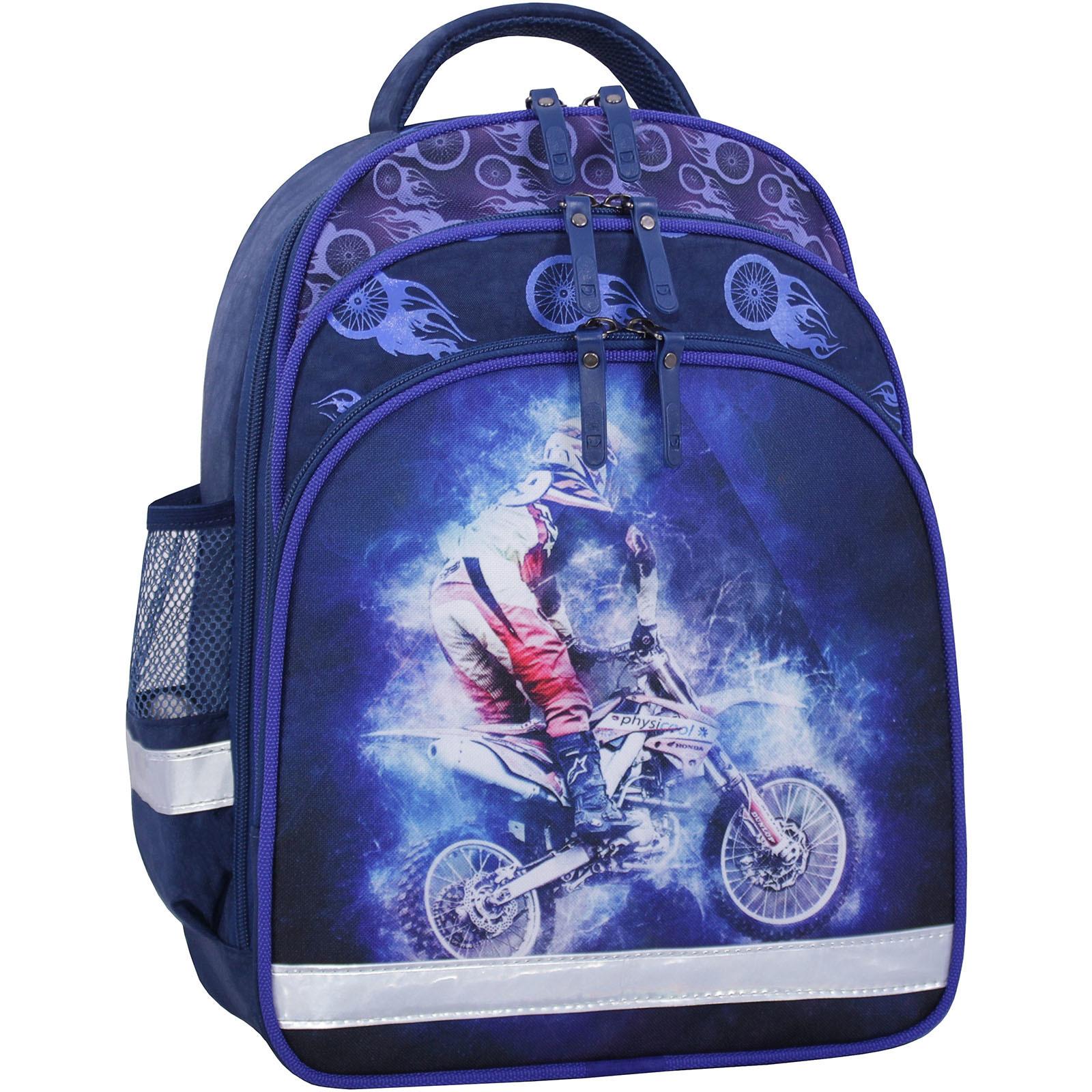 Школьные рюкзаки Рюкзак школьный Bagland Mouse 225 синий 507 (0051370) IMG_2594_суб.507_.JPG