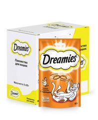 Dreamies лакомство для взрослых кошек с курицей 60г