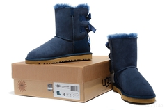 UGG Bailey Bow Navy
