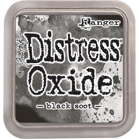 Подушечка Distress OXIDE  -Ranger - Black Soot