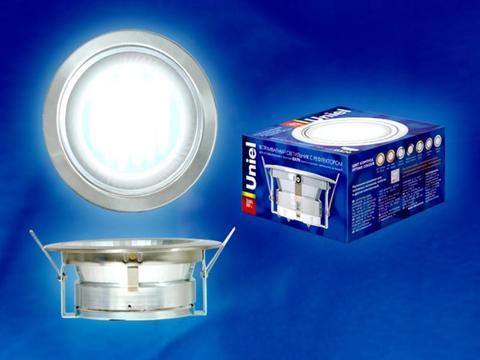 Uniel Светильник ESL-GX70/H-6R серебро (м/хром)