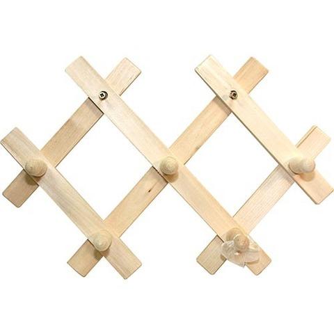 Вешалка-гармошка с 5 крючками