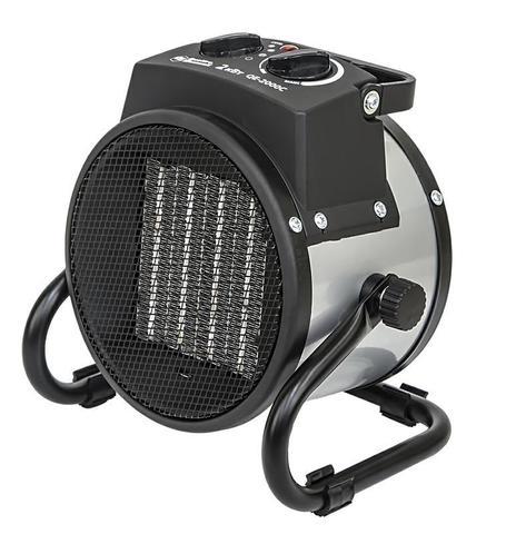 Нагреватель воздуха электрический QUATTRO ELEMENTI  QE-2000C (2кВт, 130 м.куб/ч, 220 В, ре (649-226)